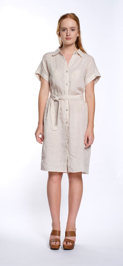 MABEL DRESS sand