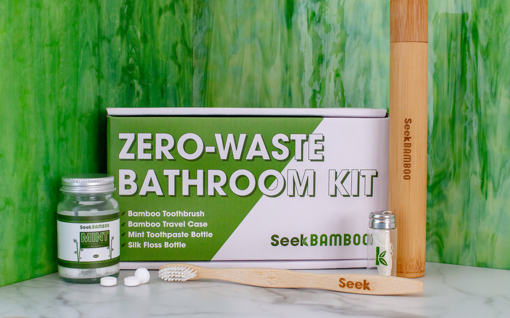 zero waste bathroom kit