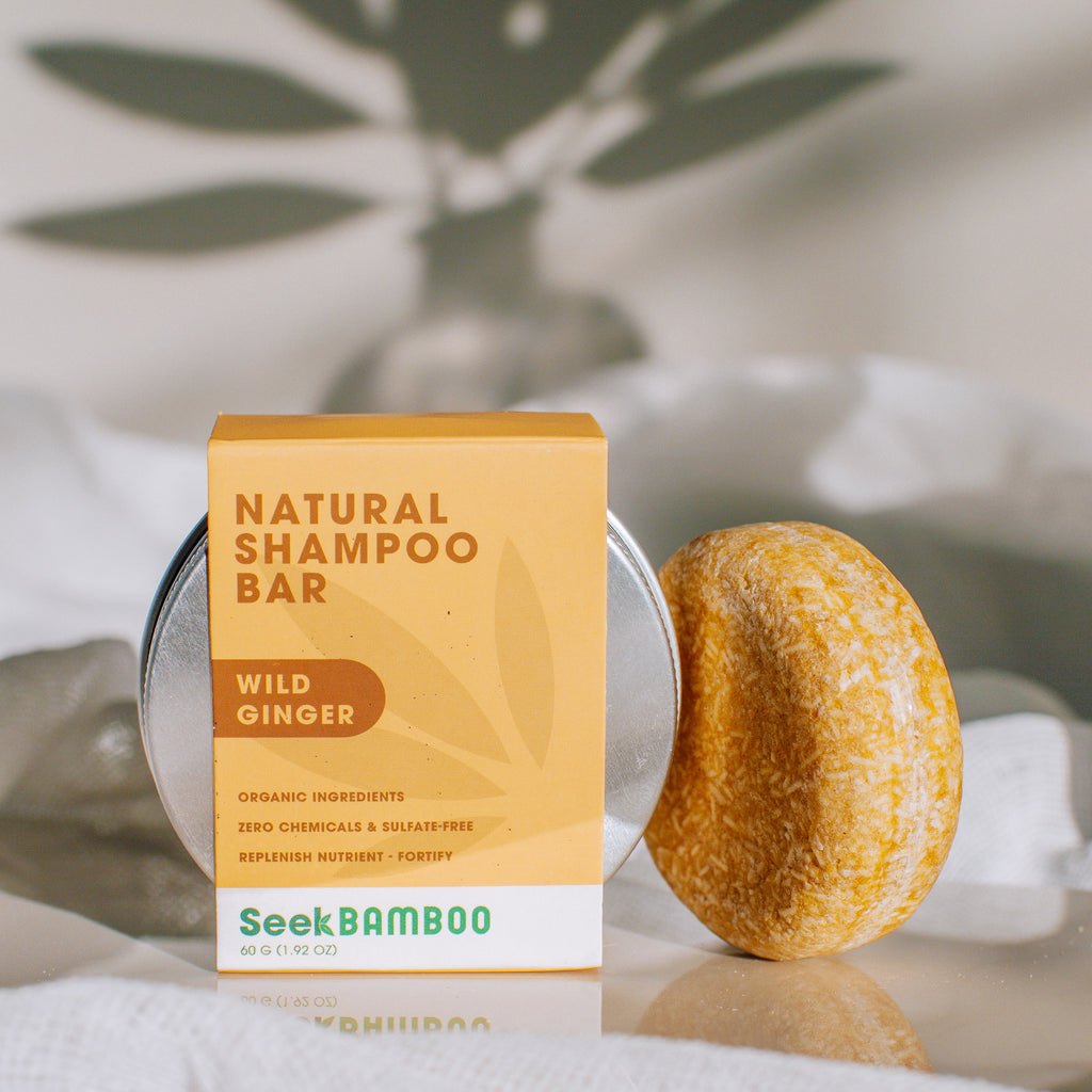 Organic Ginger Shampoo Bar