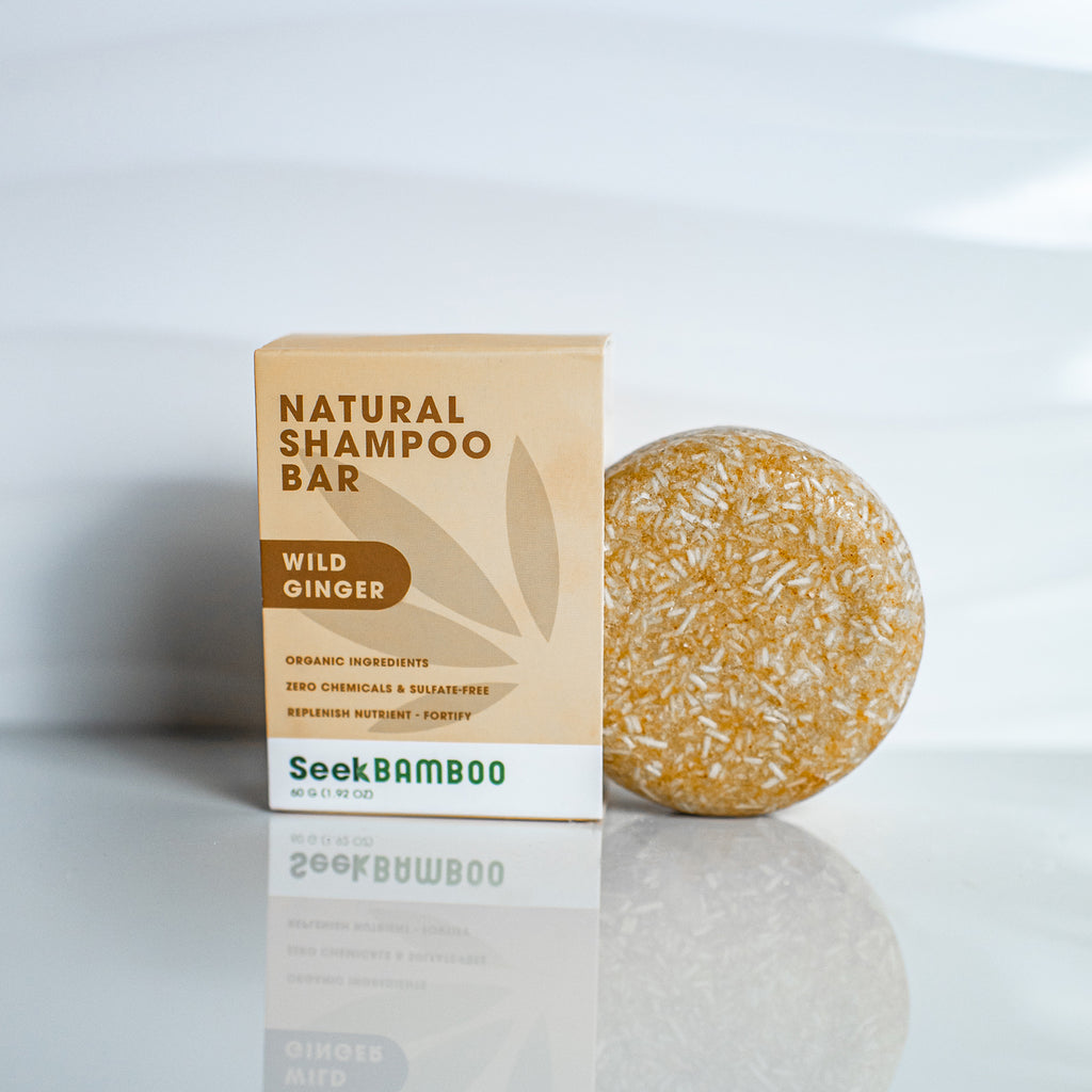 Wild Ginger Shampoo Bar