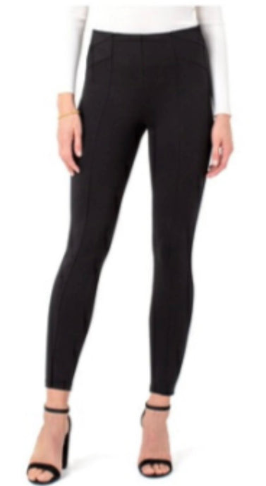 Black Pull-on Leggings - Pooja Boutique