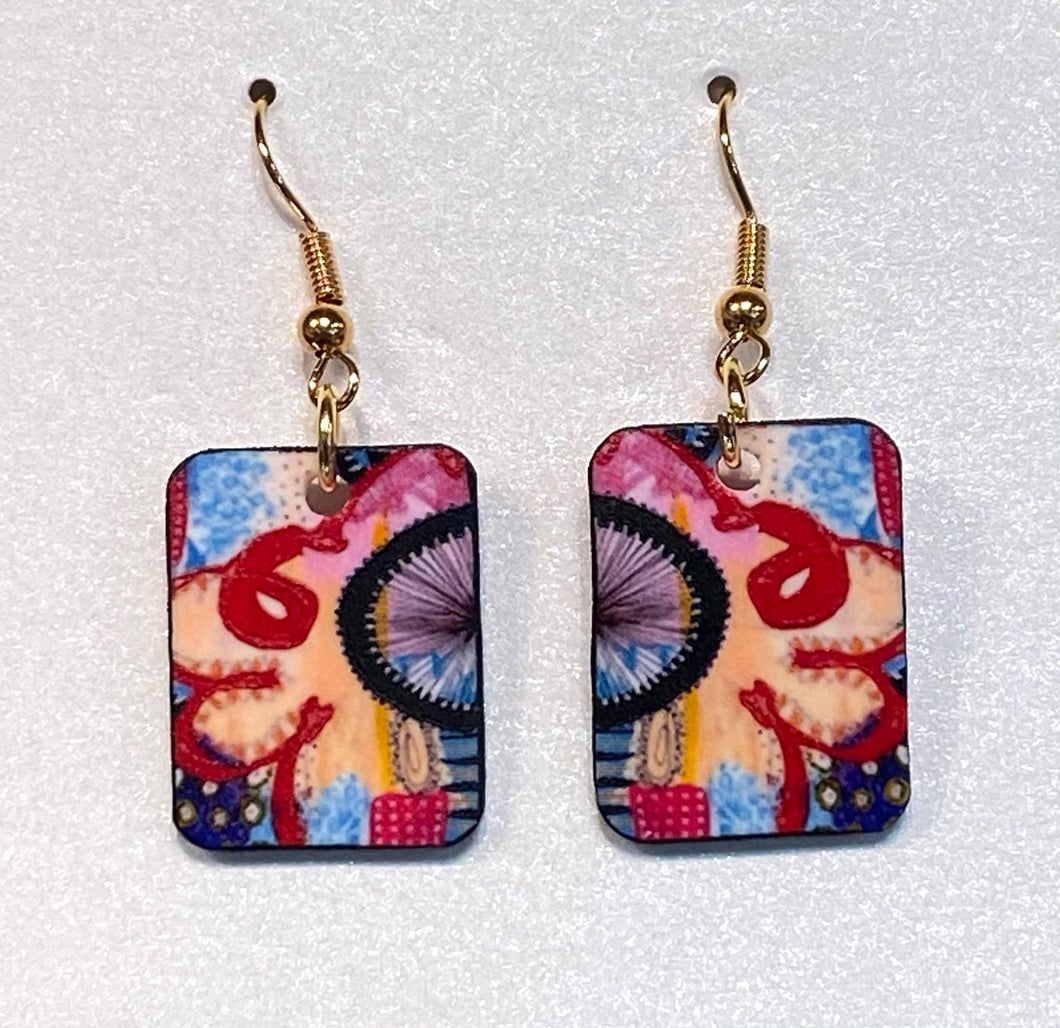 Handmade One of a Kind Earrings #9 - Pooja Boutique