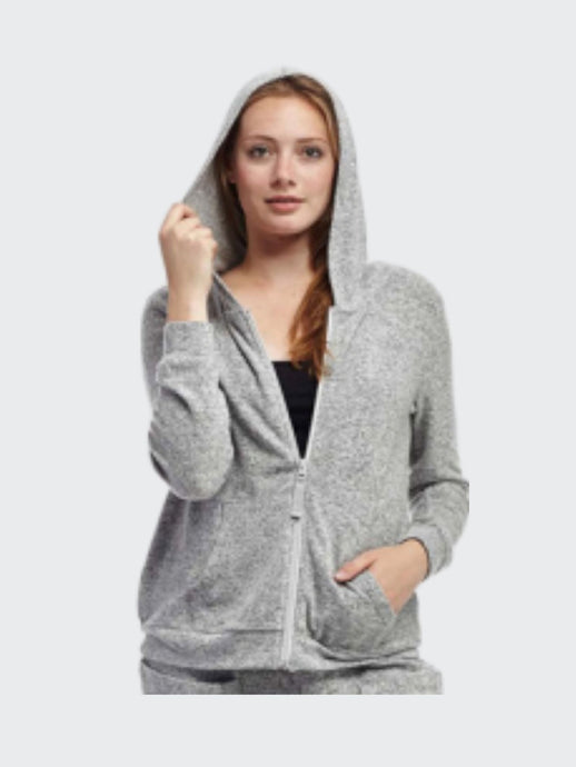 Hooded Zip Top - Pooja Boutique