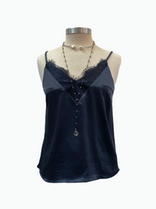 Navy Cami - Pooja Boutique
