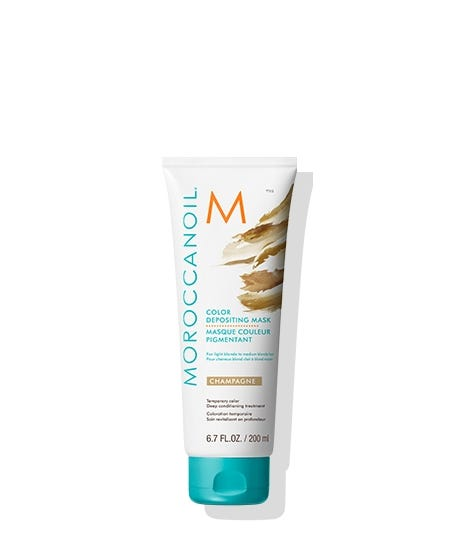 MOROCCANOIL COLOR DEPOSTING MASK CHAMPAGNE 200ML