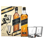 Viski Johnnie Walker Black Label 12YO  0,7L + 2 Kozarca