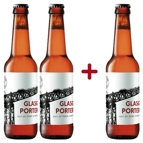Pivo Glasgow Porter Out Of Town 0,33L (2+1 gratis)