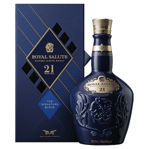 Viski Chivas Regal Royal Salute 21YO 0,7L Darilno Pakiranje