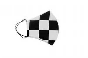 Racing Flag Face Mask