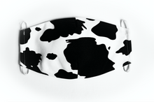 Load image into Gallery viewer, Cow Print Face Mask