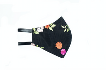 Load image into Gallery viewer, Floral Embroidered Lace Face Mask