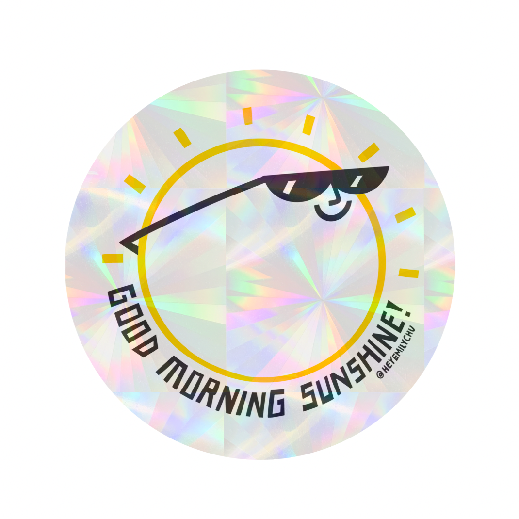 PREORDER - Suncatcher - Good Morning Sunshine