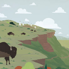 Load image into Gallery viewer, Head Smashed in Buffalo Jump - Art print