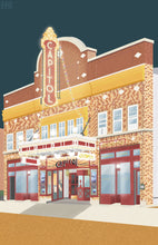 "Load image into Gallery viewer, ""Capitol Theatre"" Print (Day/Night)"