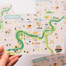"Load image into Gallery viewer, Map Postcard Trio | Set of 3 4x6"" Postcards"