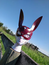 Load image into Gallery viewer, Bunny Mask - Black