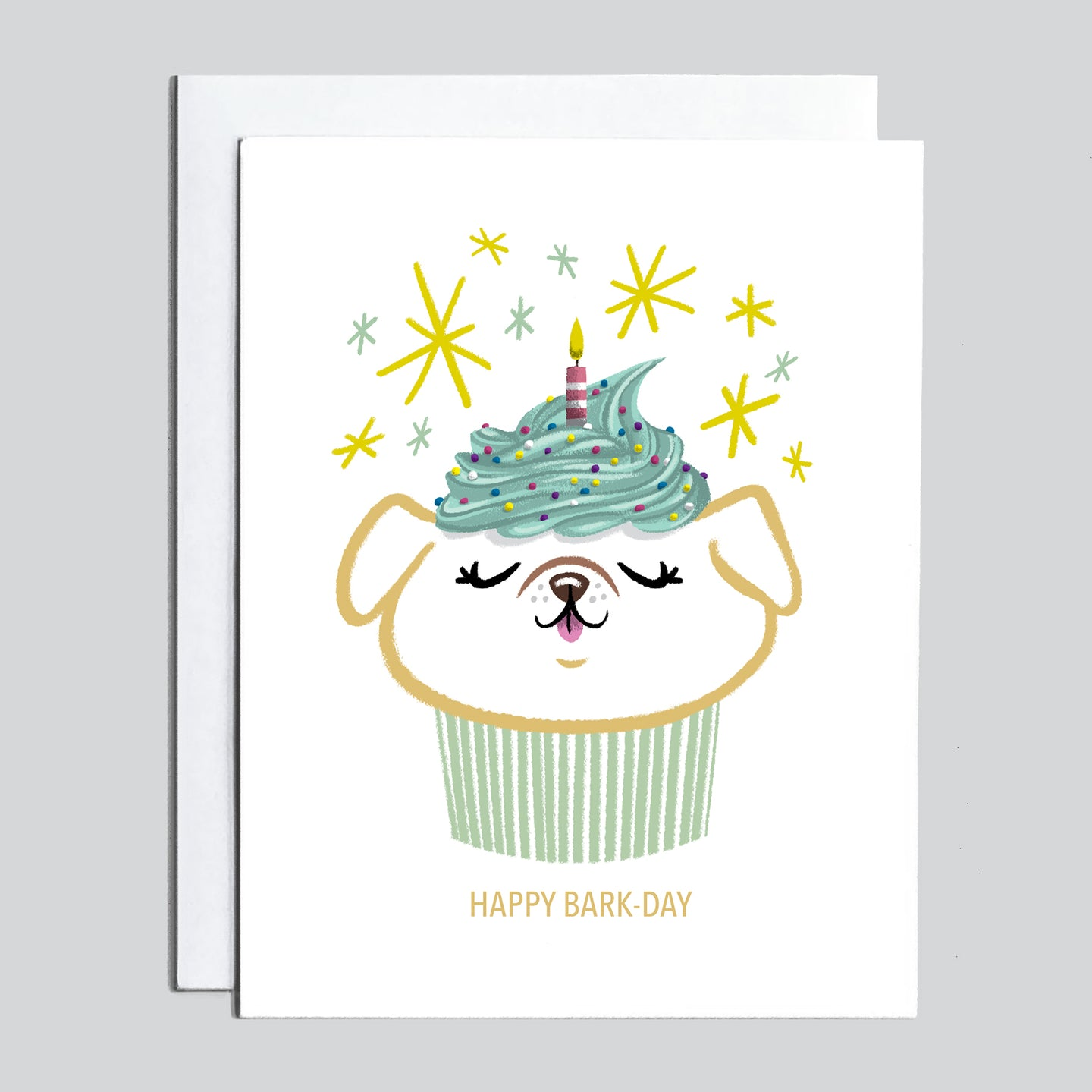 Birthday Card - Happy Bark-Day