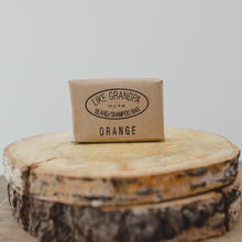 Load image into Gallery viewer, Natural Shampoo Bar. Orange scent.