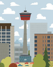 Load image into Gallery viewer, Calgary - Calgary Tower Art Print