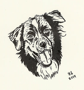 Ink Sketch From Your Photo - Limited Quantity