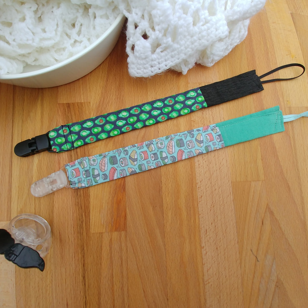 Pacifier clip set (2) - Baby Foodie