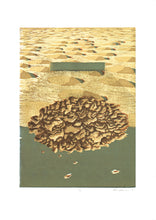 Load image into Gallery viewer, Cloud No. 1 - Woodblock Print - 20x27""