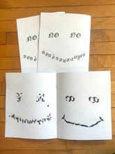 Load image into Gallery viewer, SMILE letraset zine
