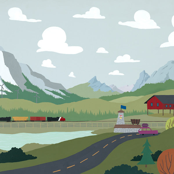 Crowsnest Pass - Art Print