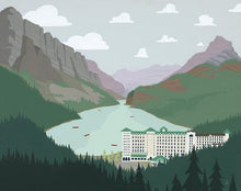 Load image into Gallery viewer, Lake Louise - Art Print