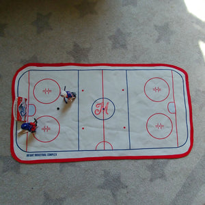 Toddler Play Mat - Hockey Rink - PREORDER