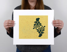Load image into Gallery viewer, Untitled - Abstract Silkscreen Print - 10x12""