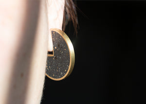 RADII STUDS - CONCRETE EARRINGS