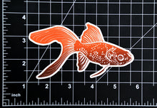 Load image into Gallery viewer, Goldfish Glossy Vinyl Sticker
