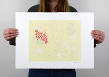 Load image into Gallery viewer, Untitled - Abstract Silkscreen Print - 15x21""
