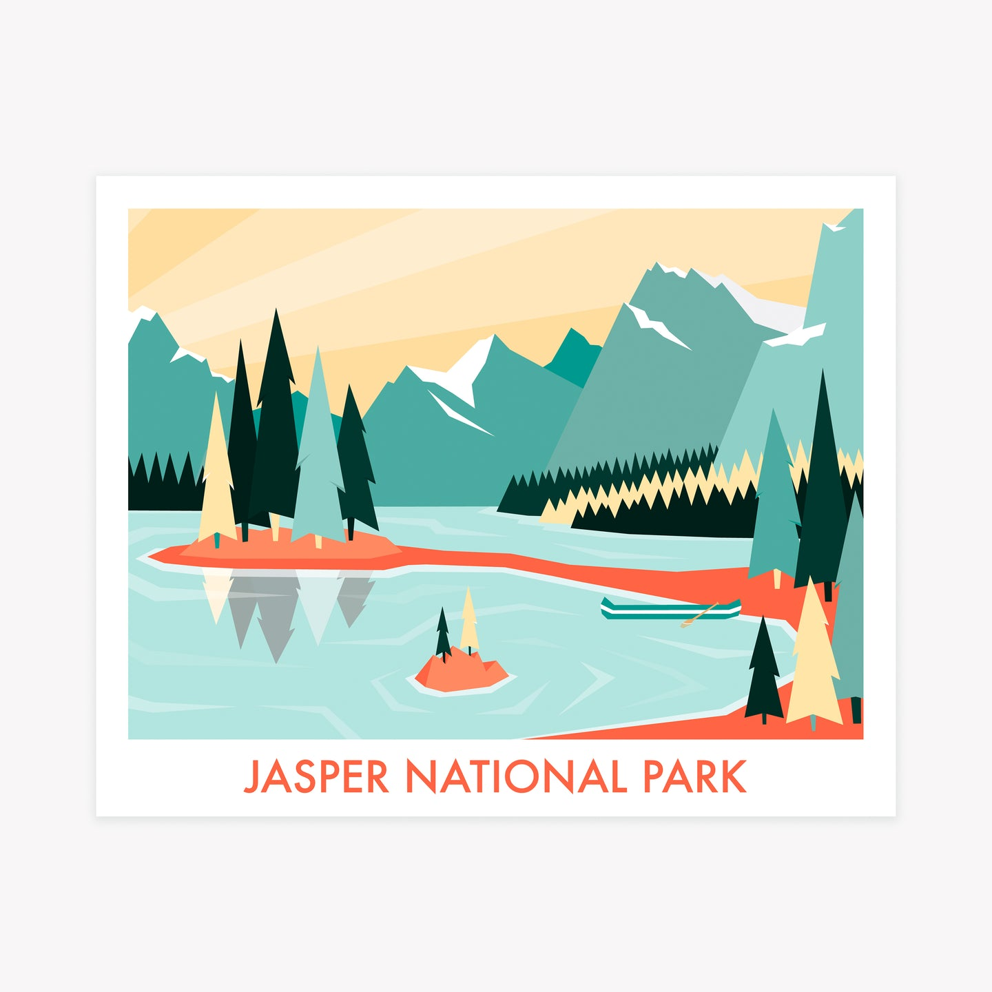 Jasper National Park - Imperfect Print