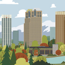 Load image into Gallery viewer, Calgary Skyline Paper print
