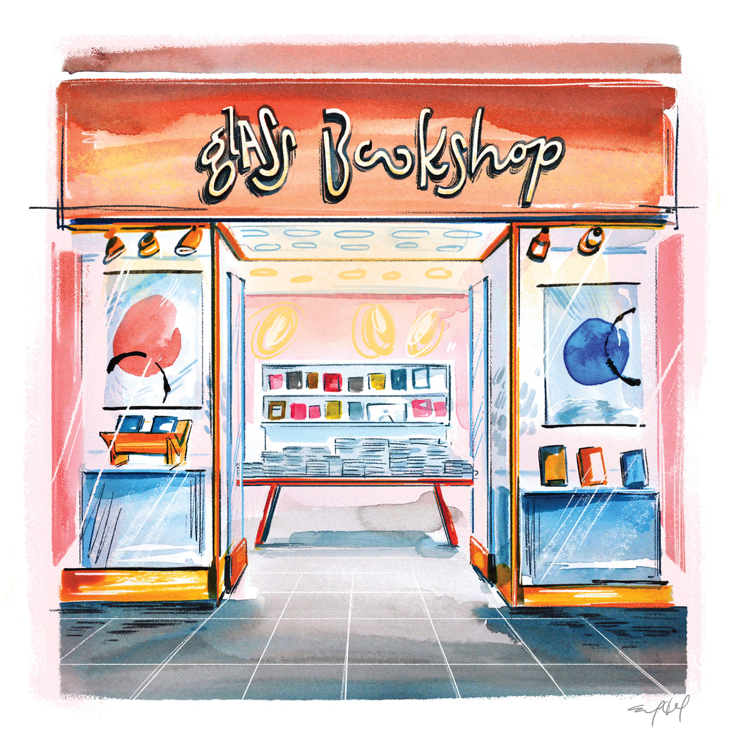 Limited Edition Mall Storefront print