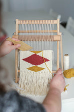 Load image into Gallery viewer, Tapestry Weaving Loom + Kit