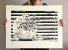 Load image into Gallery viewer, Outside In - Lithography Print - 22x29""