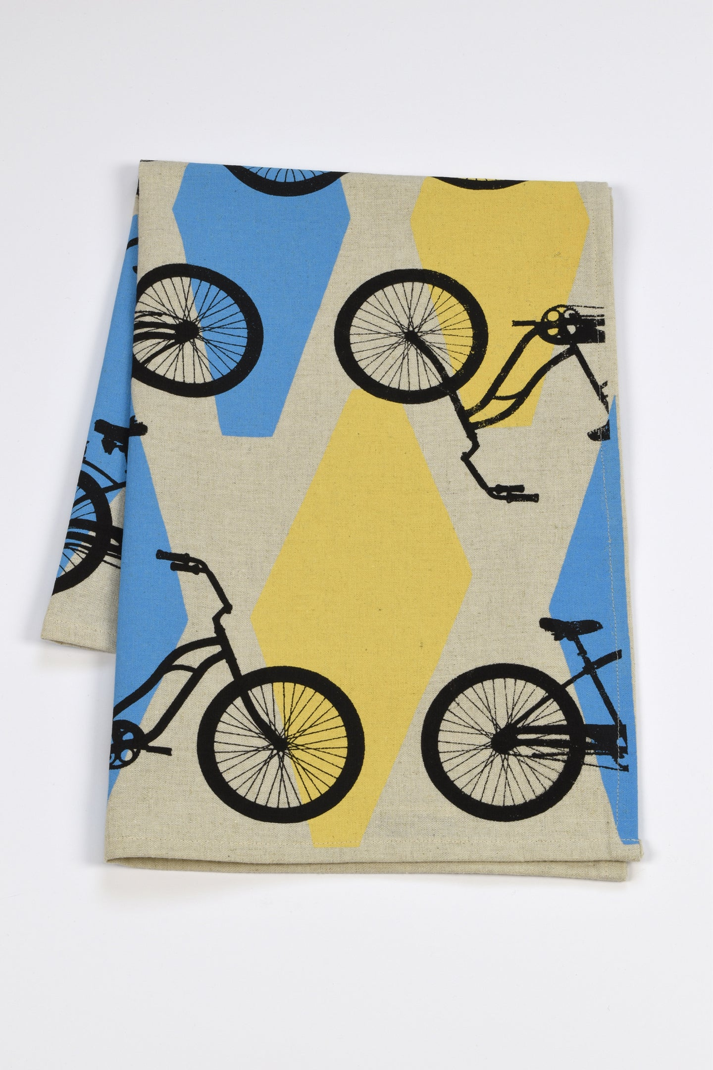 Diamond Bike Tea Towel