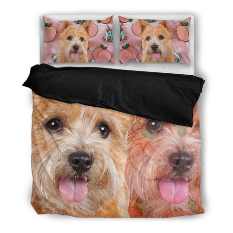 Norwich Terrier Print Bedding Set