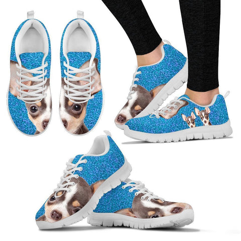 Amazing Chihuahua Print Running Shoes For Women