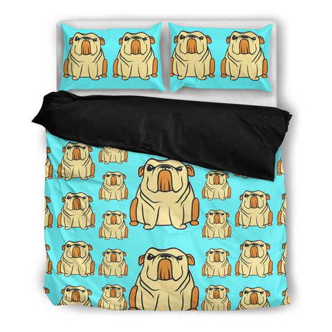 Amazing Bulldog Bedding Set