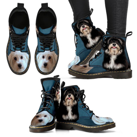 Cute Havanese Print Boots For Women Express Shipping