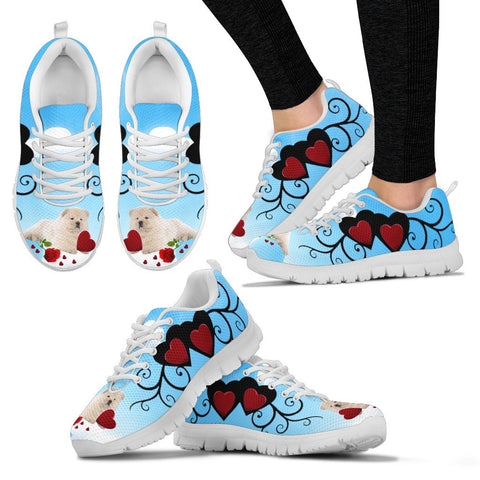 Valentine's Day SpecialChow Chow Dog Print Running Shoes For Women