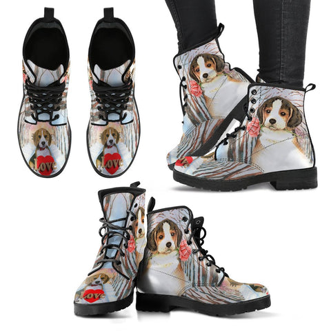 Valentine's Day SpecialBeagle Dog Print Boots For Women