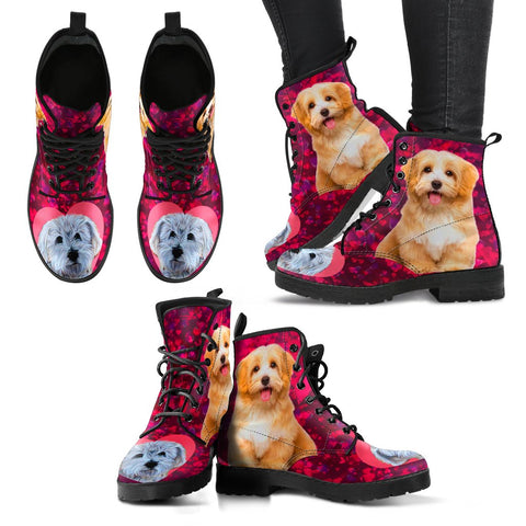 Valentine's Day SpecialHavanese Dog Print Boots For Women