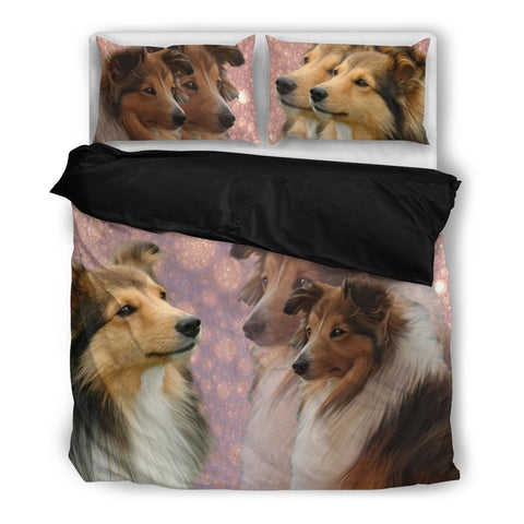 Amazing Shetland Sheepdog Print Bedding Set