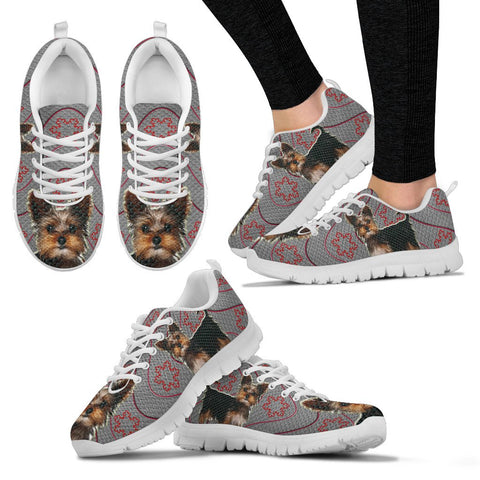 Yorkshire Terrier(Yorkie) Print Running Shoes For Women