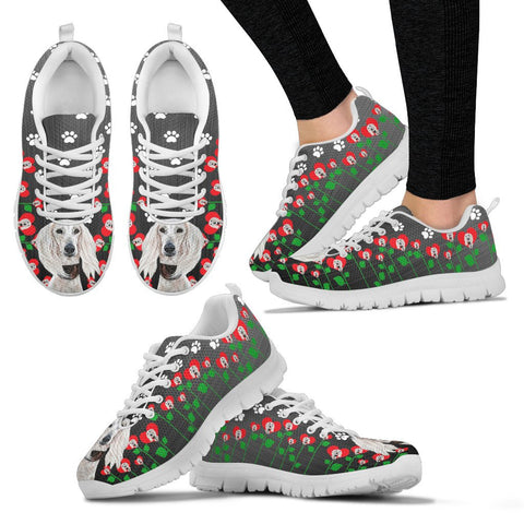 Valentine's Day SpecialSaluki Dog Print Running Shoes For Women
